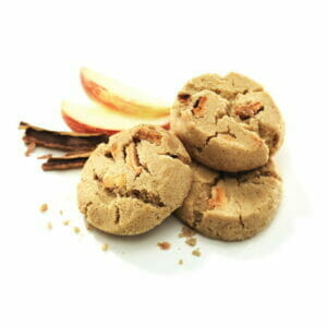 Apple & Cinnamon Bite Size Cookies
