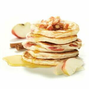 Apple & Spice Gluten-Free Pancake Stack