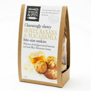 Honey, Banana & Macadamia Cookies 260g Box