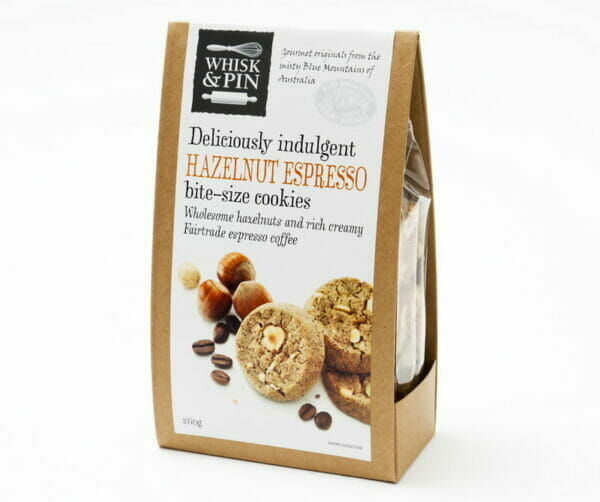 Hazelnut Espresso Cookies 260g Box