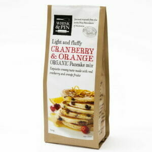 Cranberry & Orange Organic Pancake Mix 400g