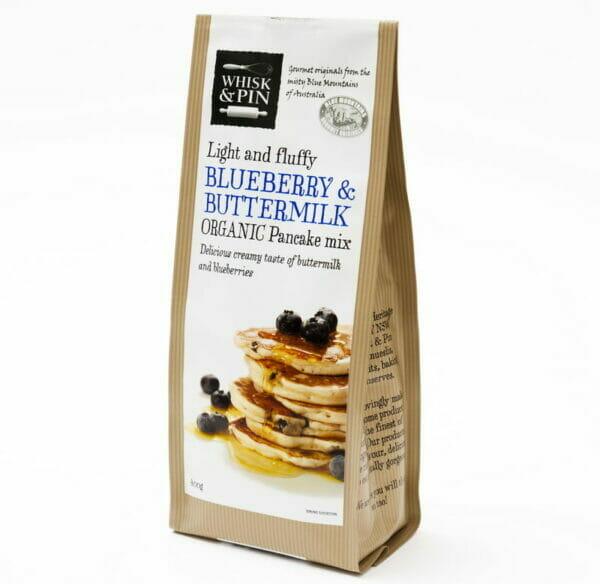 Blueberry & Buttermilk Organic Pancake Mix 400g