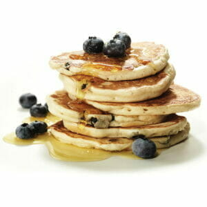 Blueberry & Buttermilk Pancake Stack