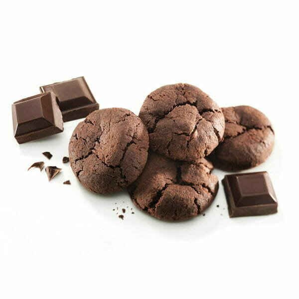 Gluten Free Chocolate Mud Bite Size Cookies
