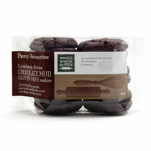 Gluten Free Chocolate Mud Cookies - Pantry Favourites