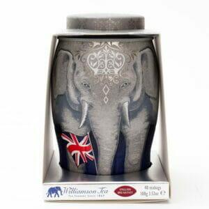 Regal Large Elephant Caddy - 40 English Breakfast Teabags