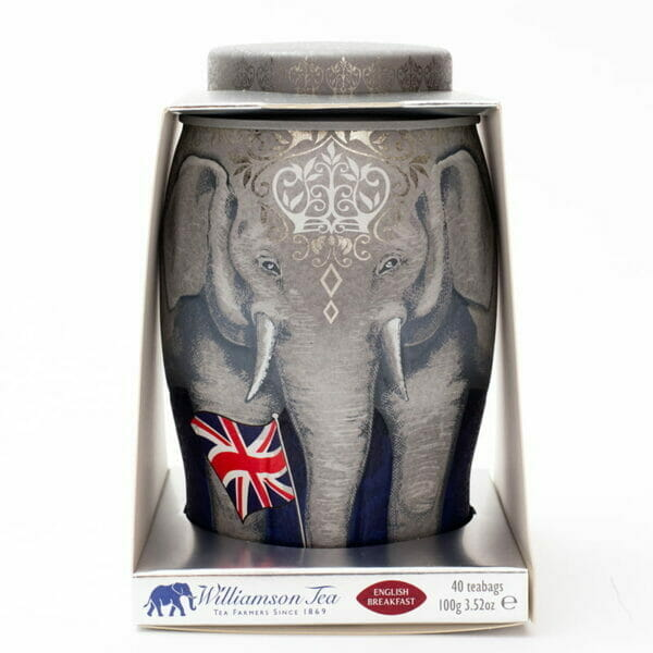Regal Large Elephant Caddy - 40 English Breakfast Teabags