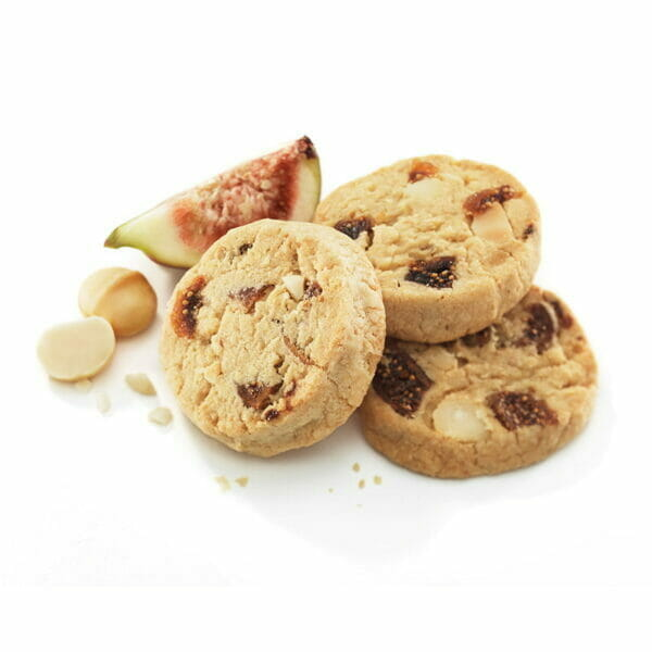 Fig, Macadamia & Ginger 1kg Bite-Size Cookies