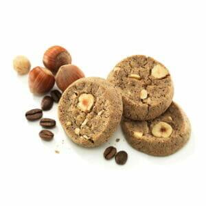 Hazelnut Espresso Bite-Size Cookies