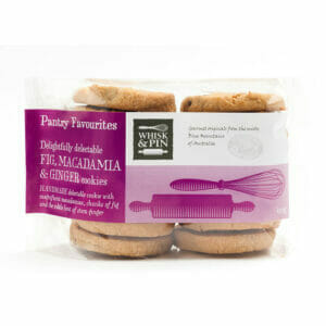Pantry Favourite Fig, Macadamia & Ginger Cookies