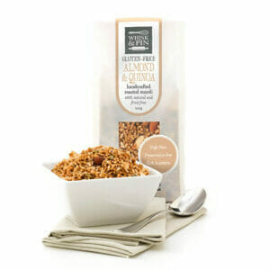 Almond & Quinoa GF Roasted Muesli Fruit-Free-0
