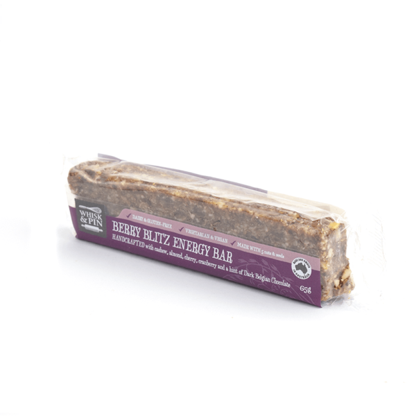 Berry Blitz GF & Vegan Energy Bar 65g-907