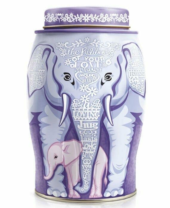 Mother Love Elephant Caddy - 40 Earl Gray Teabags 100g