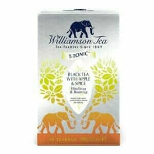 Black Tea With Apple And Spice 50 Boxed Teabags 125g