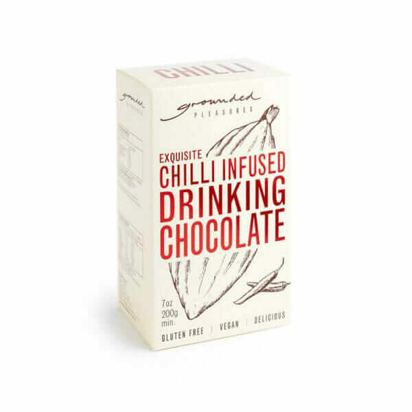 Chilli Infused Drinking Chocolate 200g-0